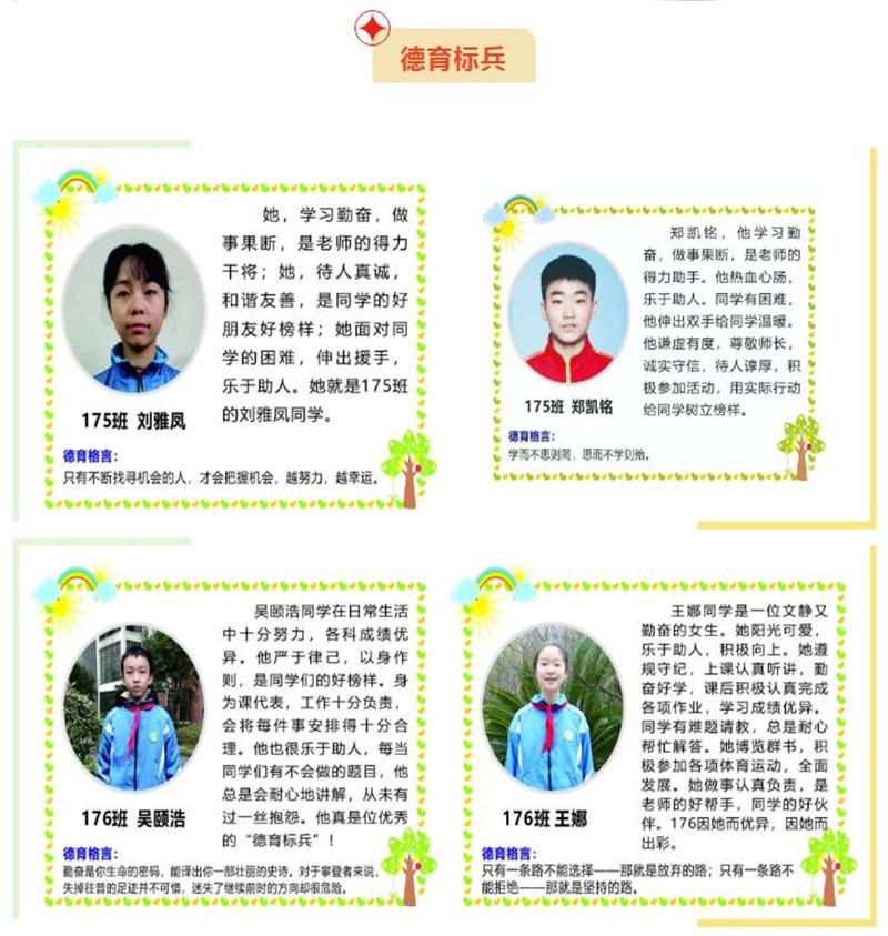 湘潭市益智中学2020年下学期七年级优秀学生表彰