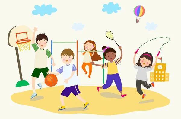 """落实""""双减""""有力度,课后服务有温度——益智中学""""每天运动一小时·幸福生活一辈子""""体育课后服务开课啦"""